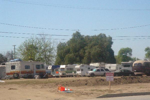 Tent City...