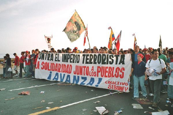 Against Terrorism!...