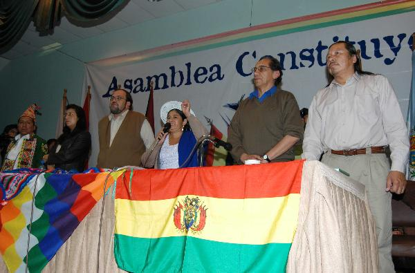 Todos con Bolivia...