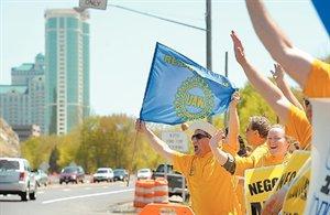 UAW Protest MGM Foxw...