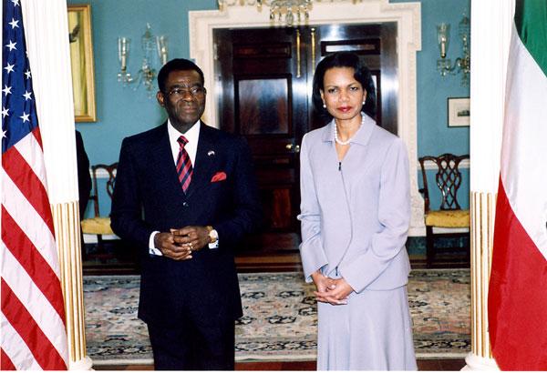 Obiang Nguema y la T...