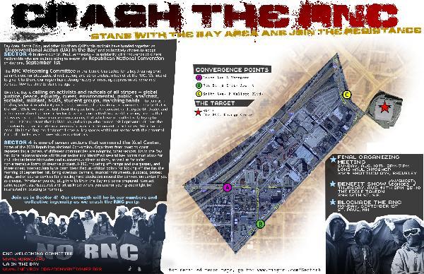 CRASH THE RNC:  Call...