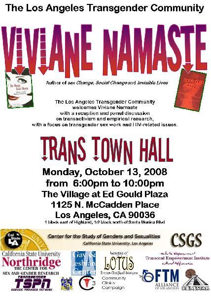 Viviane Namaste...