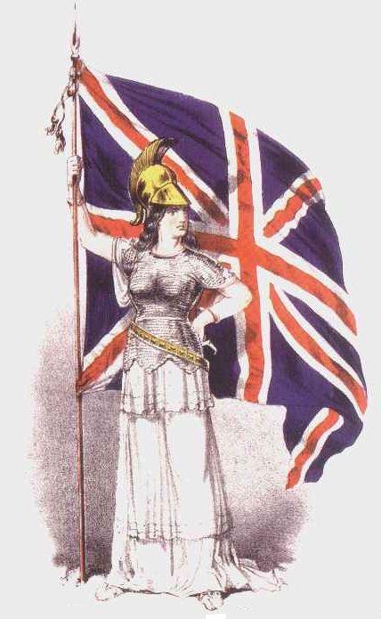 Banderas británicas...