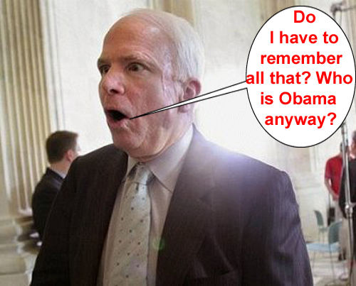 McCain's instruction...