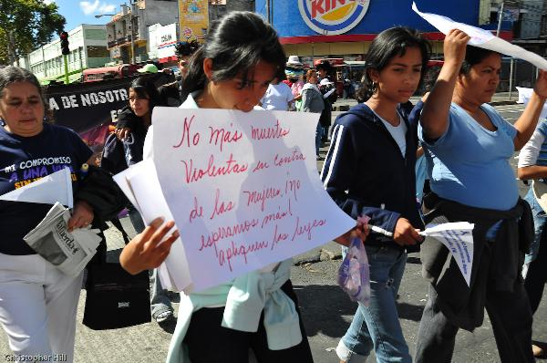 Manifestante...