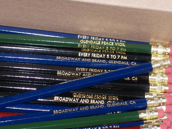 Custome-made pencils...
