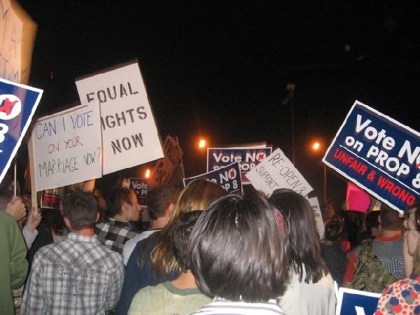 11-08 Prop 8 protest...