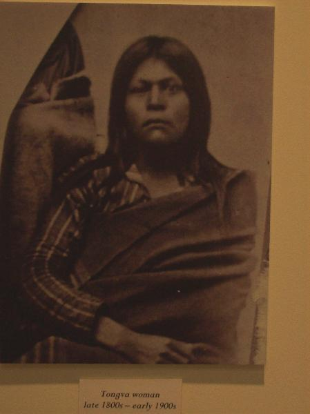Unknown Tongva woman...