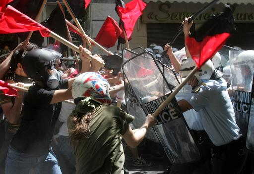 Riots in Athens...