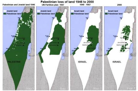 Israel and Palestine...