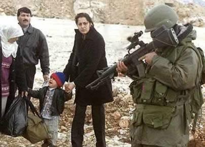 Israeli soldier and ...