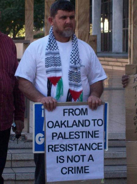Protesting oppressio...