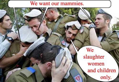 we want out mammies...