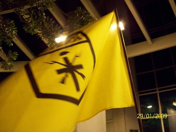 Brown Berets flag...