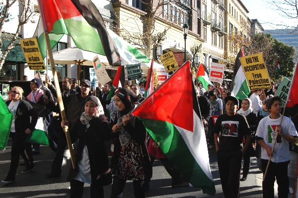 Month-long Gaza Prot...