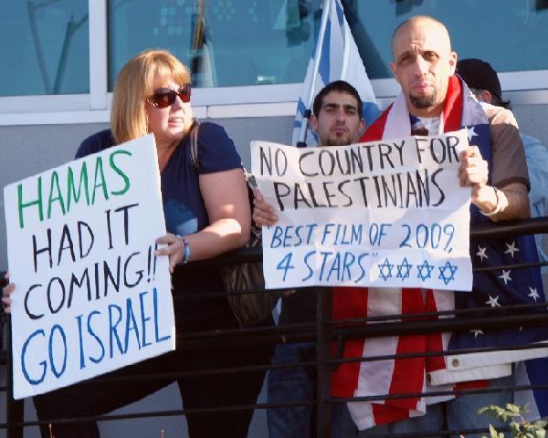 Israel supporter ref...