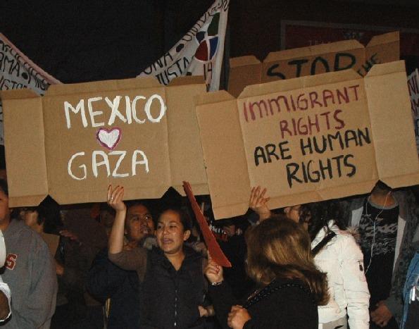 """""""Mexico loves Gaza..."""