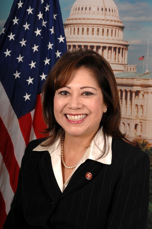 Hilda Solis as our S...