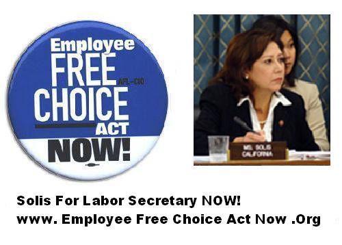 Employee Free Choice...