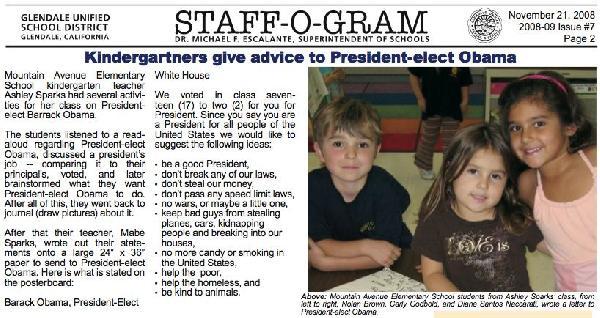 STAFF-O-GRAM (Glenda...