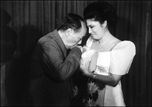 Mao and Imelda Marco...