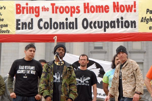 Iraq War veterans...