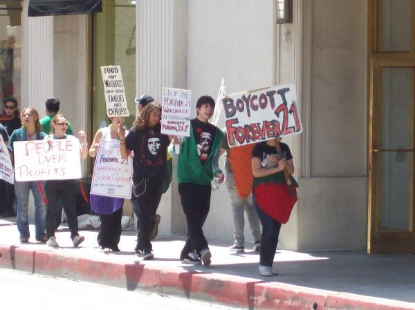 Boycott Forever 21!!...