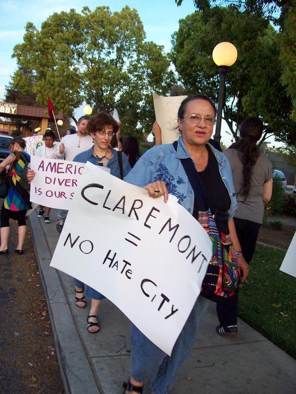 Claremont = No Hate ...