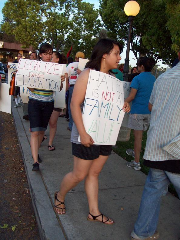 Hate is not a family...