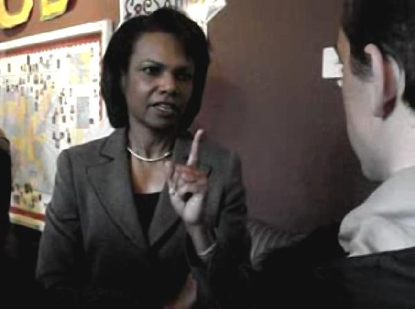 Condoleezza Rice wit...
