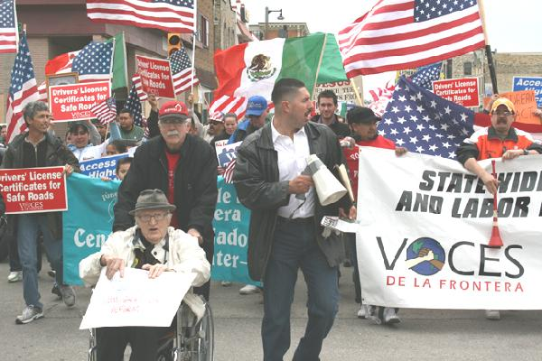 Inmigrantes Marchan ...