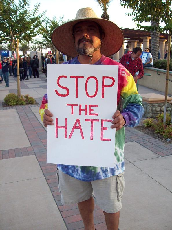 Stop the hate...
