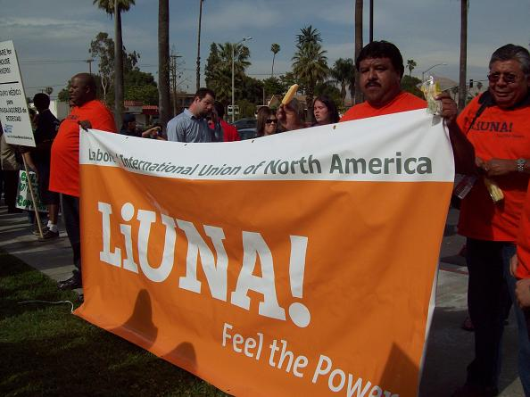 LiUNA, the construct...