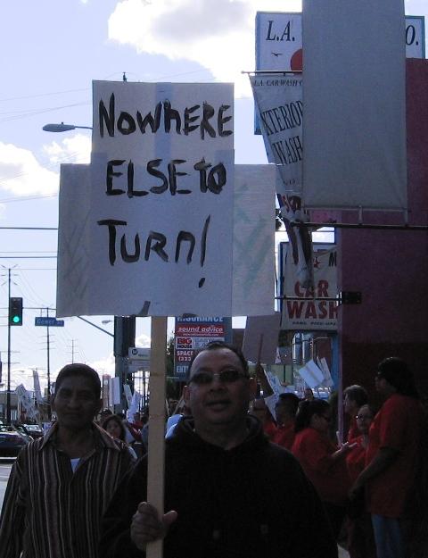 pre-protest protest...