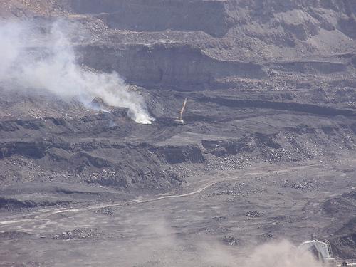 The Cerrejón mine...