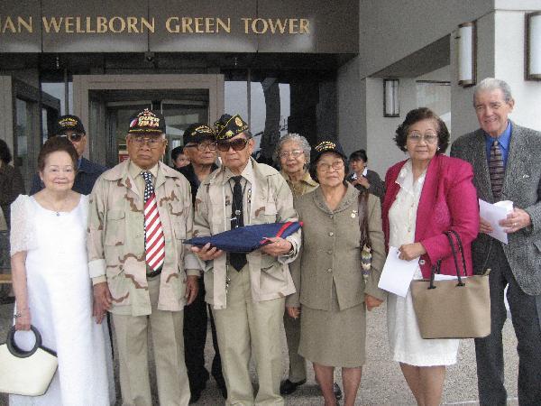 Veterans and widows ...