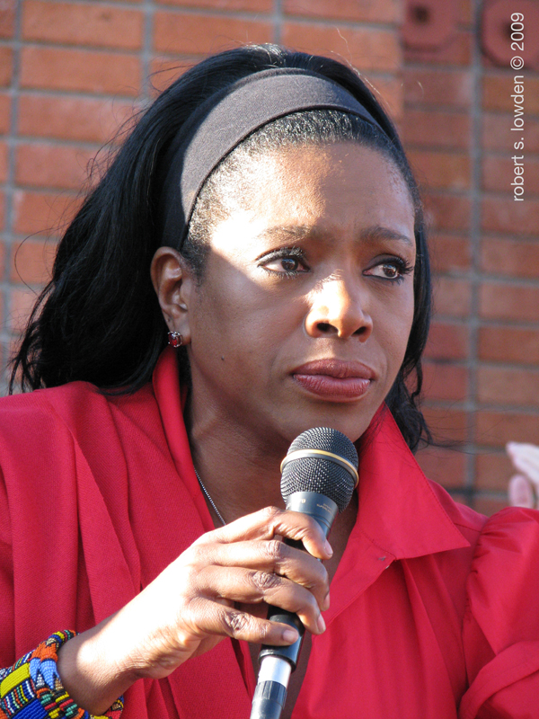 HIV Protester Sheryl...