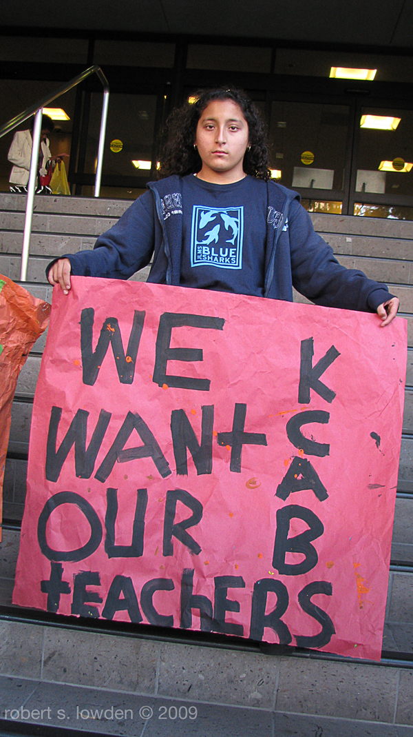 Student Activist...