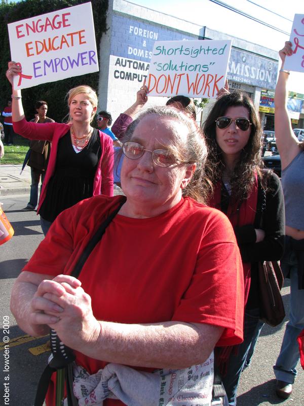 HIV Protesters - Mot...