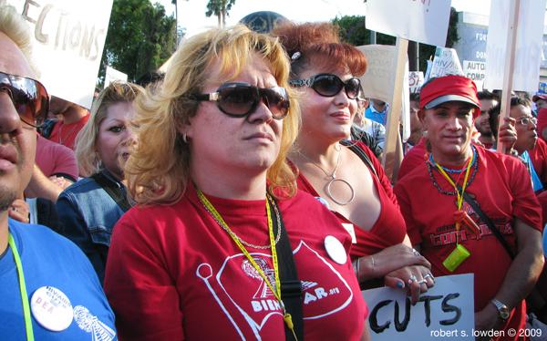 HIV Protesters...