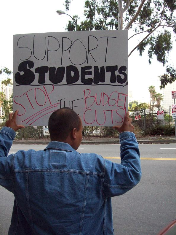 Support students...