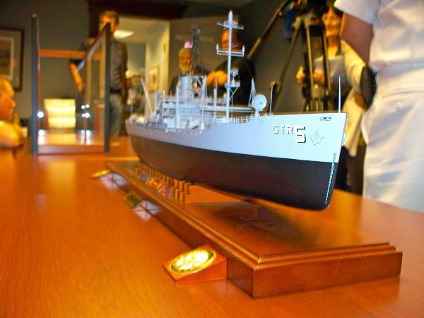 The USS Libe...