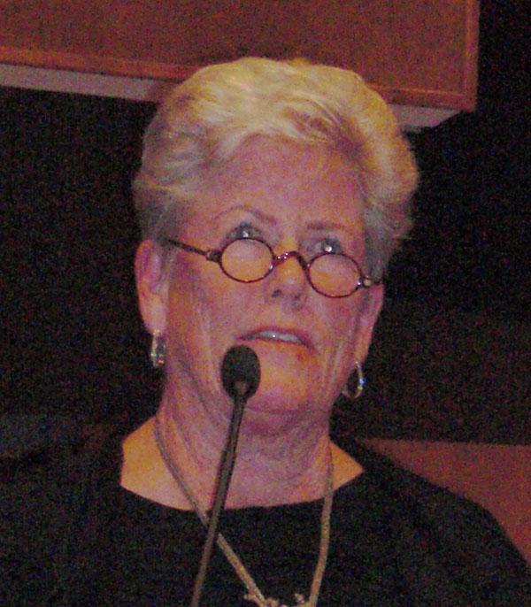 Judy White...