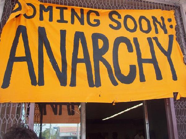 Coming Soon: Anarchy...