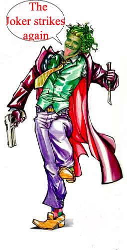 The Joker as hypocri...