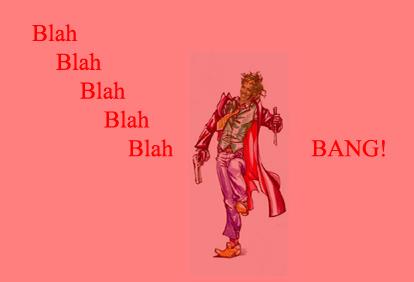 The Ju-Ju man said �...