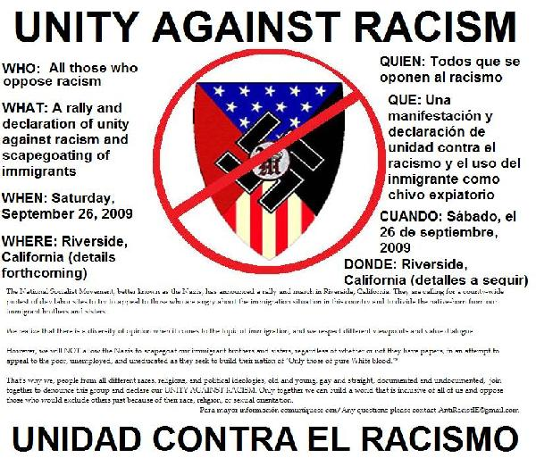 Unity Against Racism...