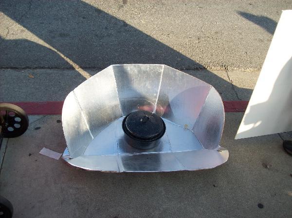 Solar cooker...