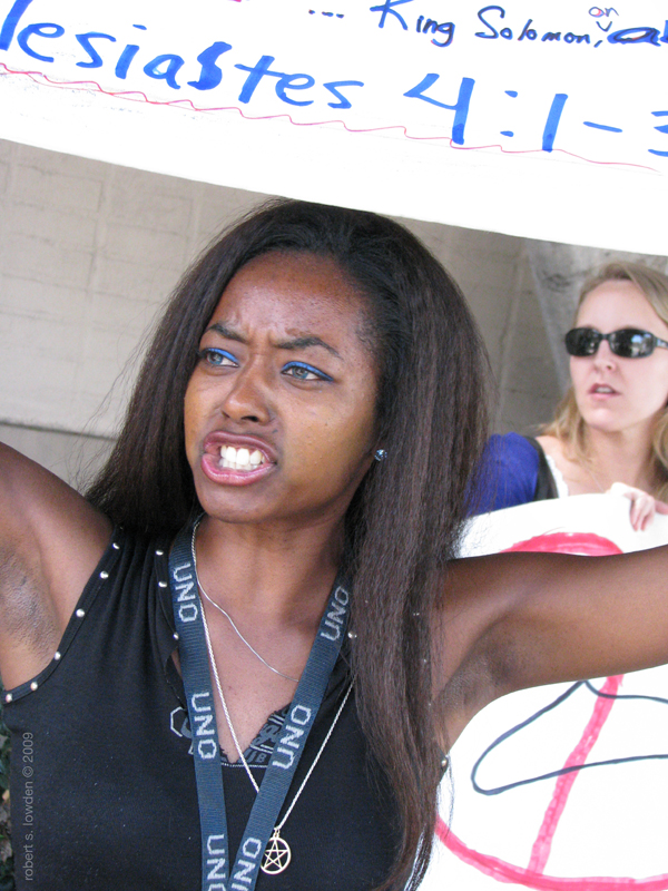 Pro Choice Protester...